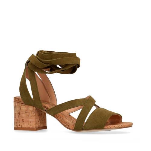 SPM for Sacha suède sandalettes groen