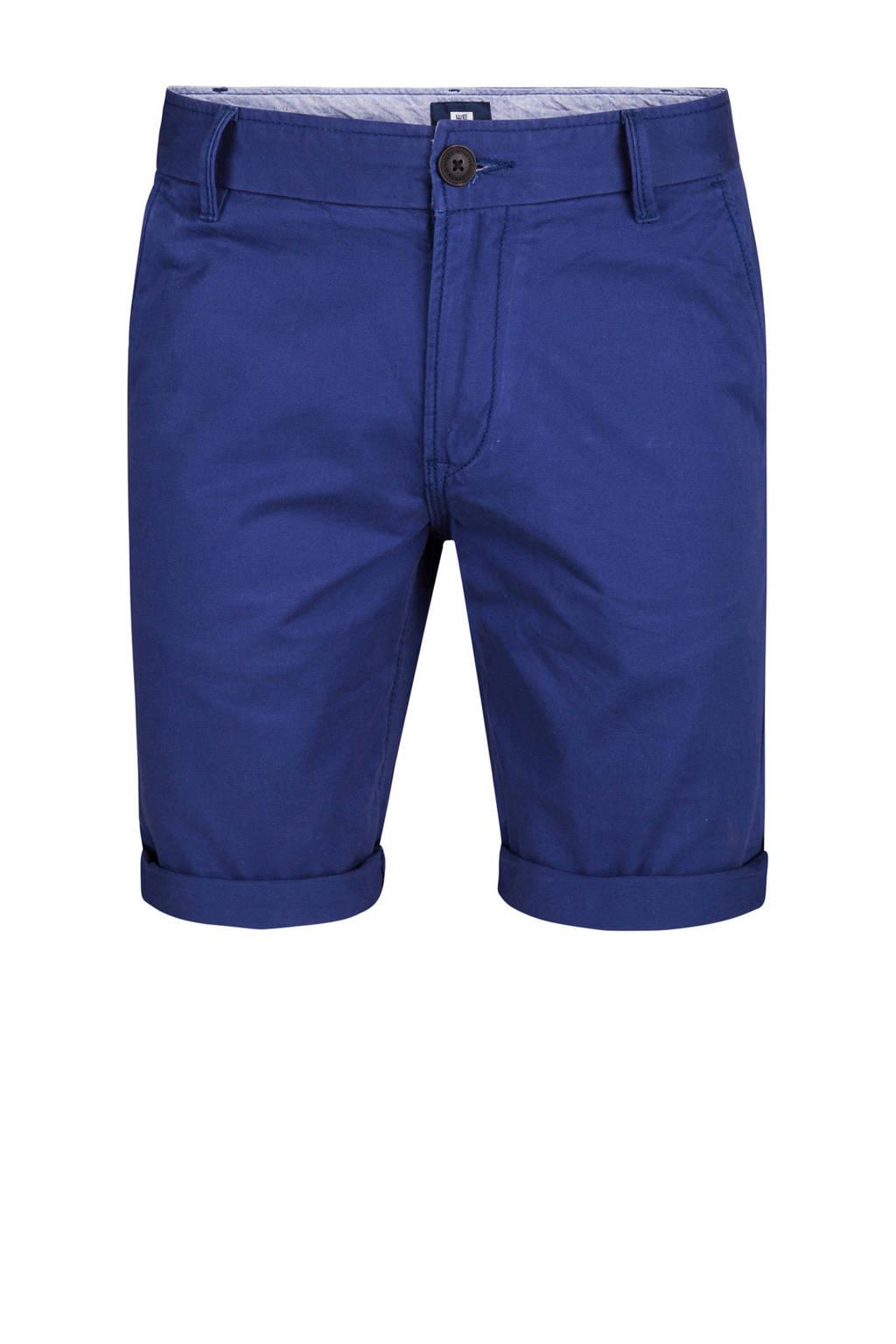 WE Fashion regular fit bermuda, Blauw