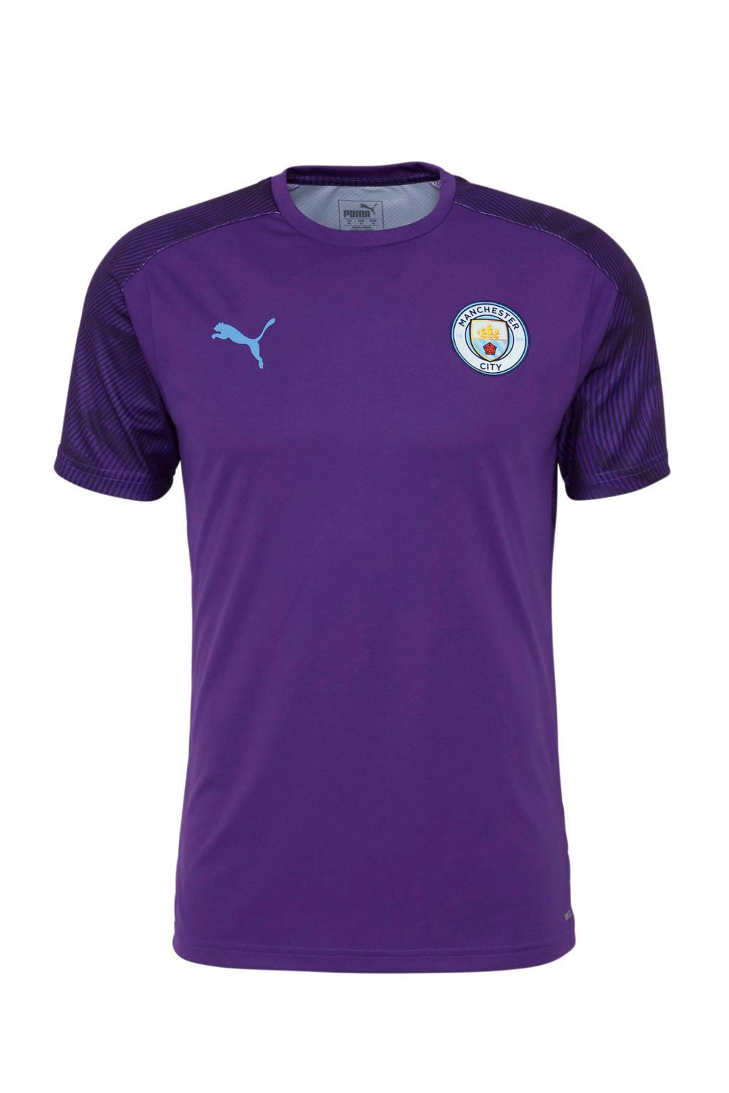 Puma Senior Manchester City voetbalshirt Training, Paars