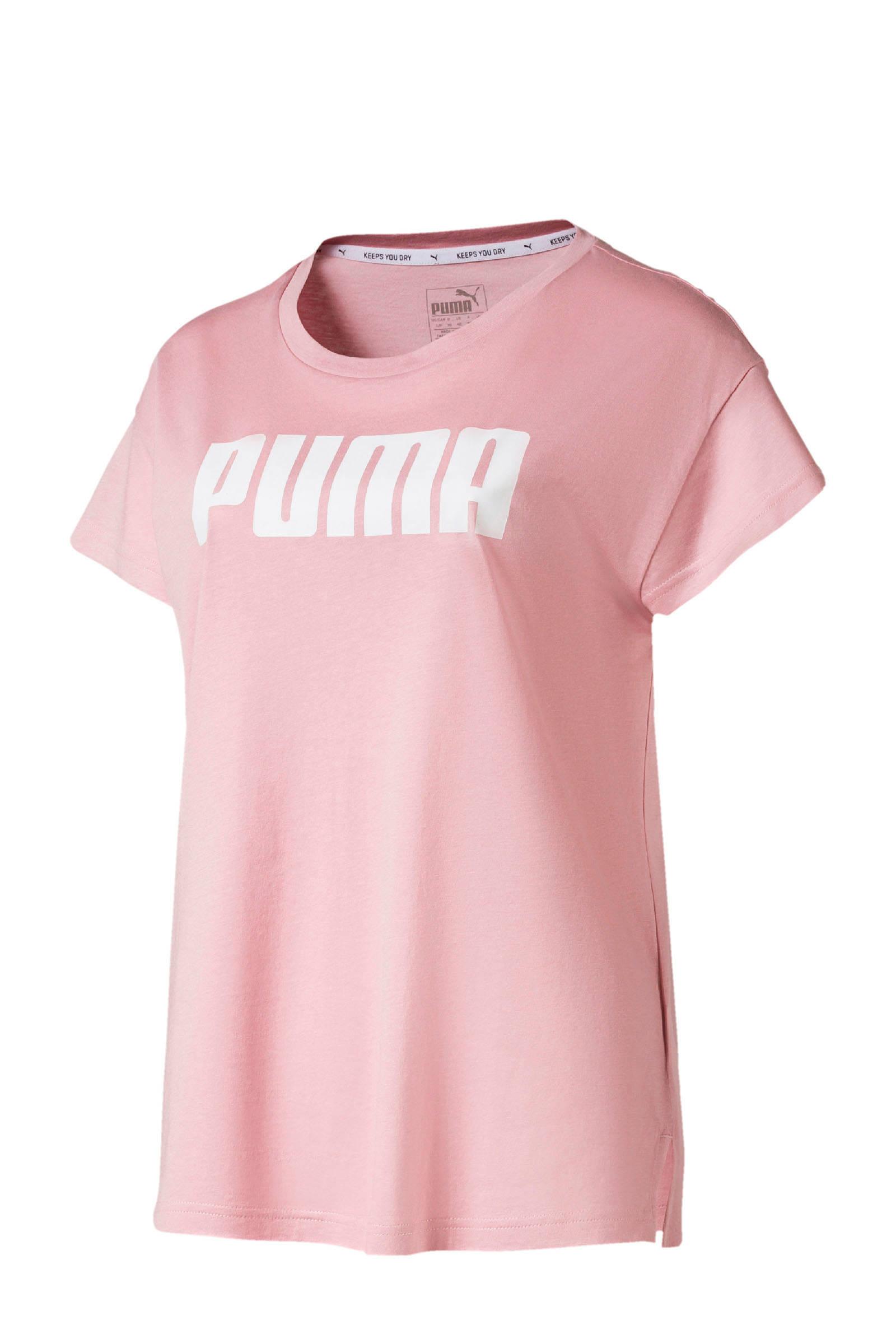 Puma T shirt oudroze | wehkamp