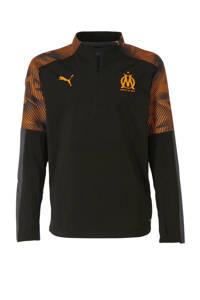 Puma Junior Olympique Marseille voetbalshirt, Zwart/oranje