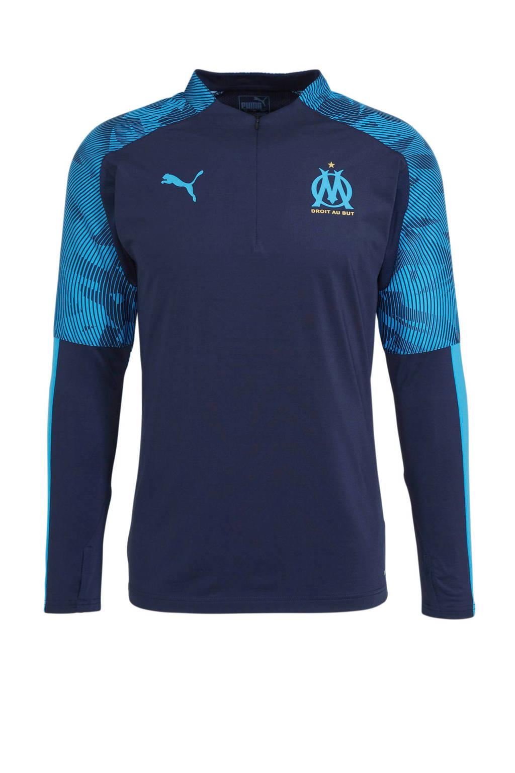 Puma Senior Olympique Marseille voetbalshirt donkerblauw, Donkerblauw