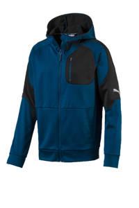 Puma   vest donkerblauw/zwart, Donkerblauw/zwart