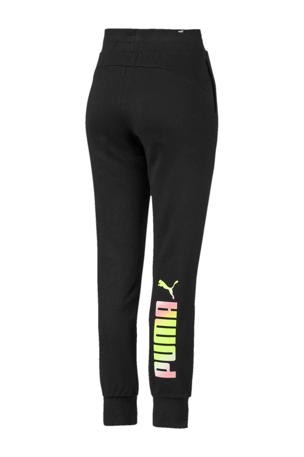 Puma regular fit joggingbroek zwart, Zwart