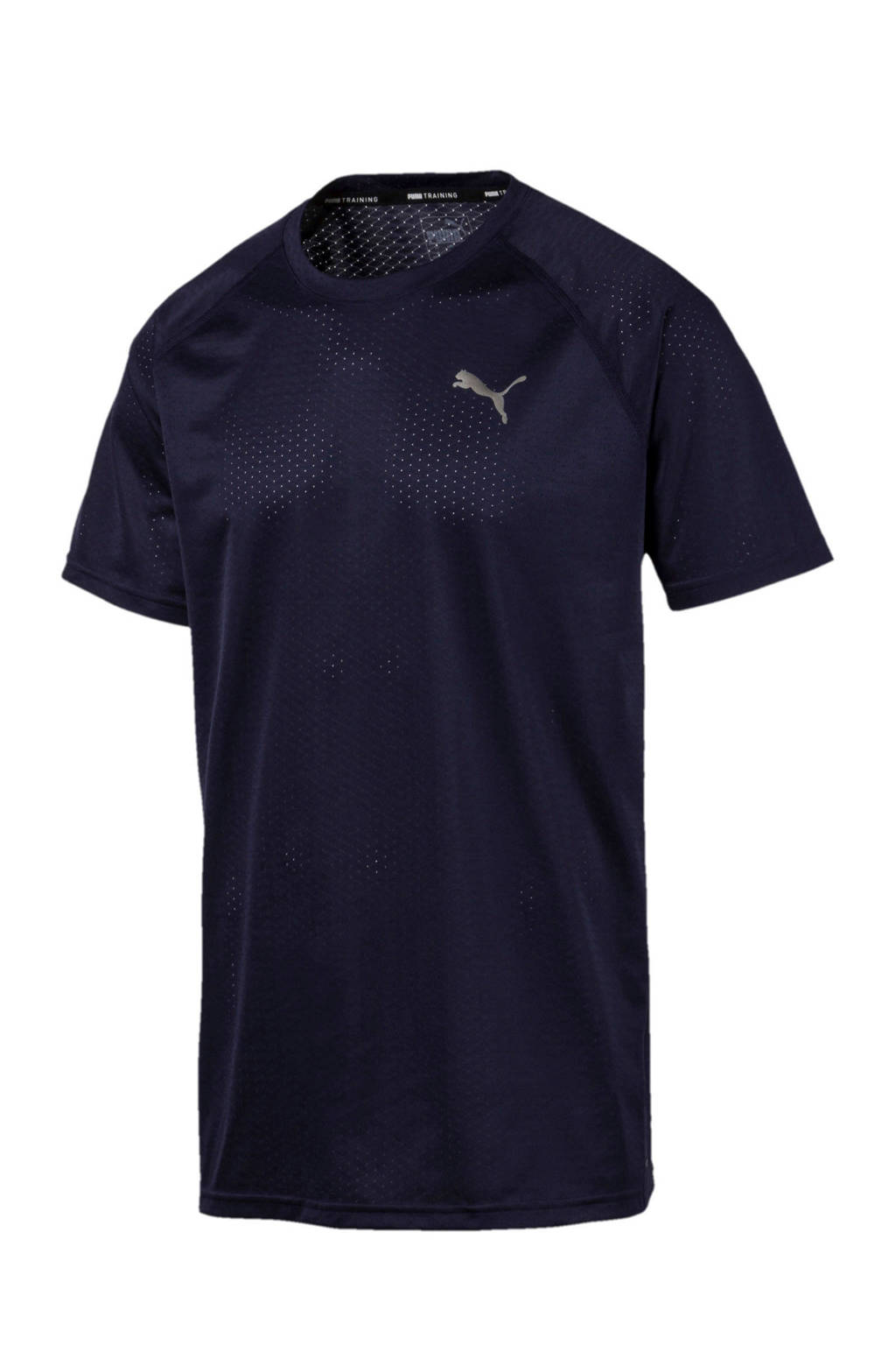 Puma   sport T-shirt donkerblauw, Donkerblauw