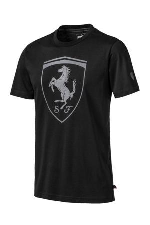 Ferrari T-shirt zwart