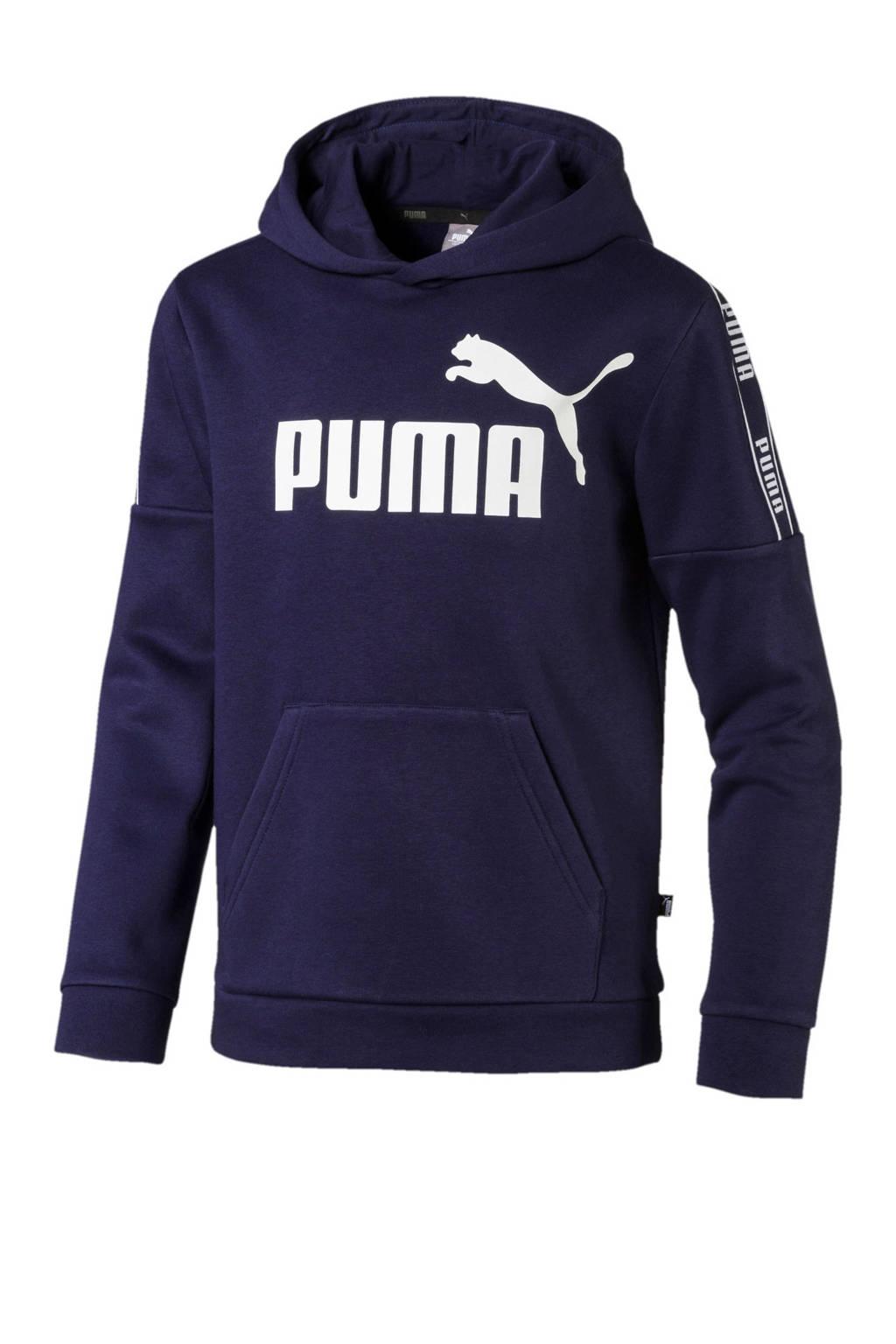 Puma   hoodie donkerblauw, Donkerblauw