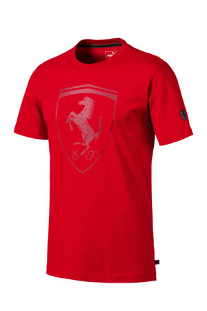 Ferrari T-shirt rood