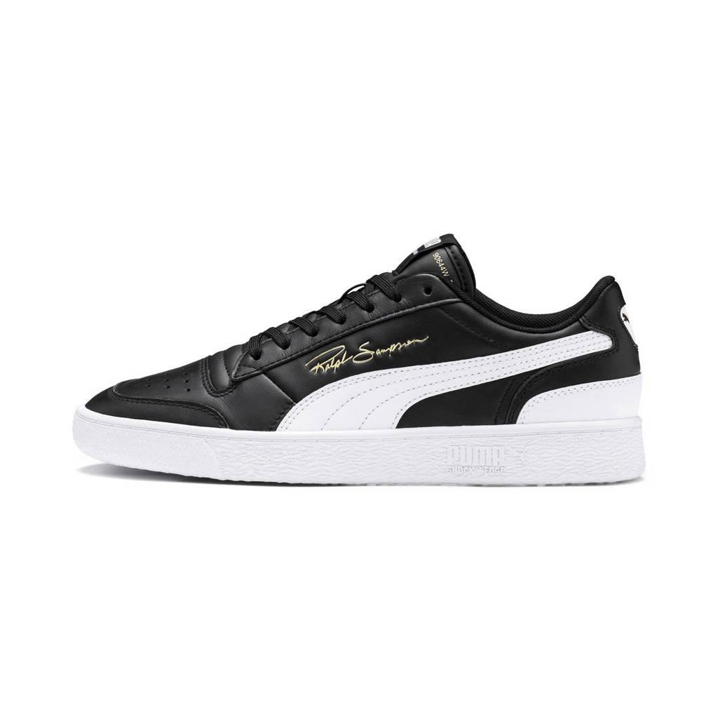 Puma  Ralph Sampson Lo sneakers zwart/wit, Zwart/wit