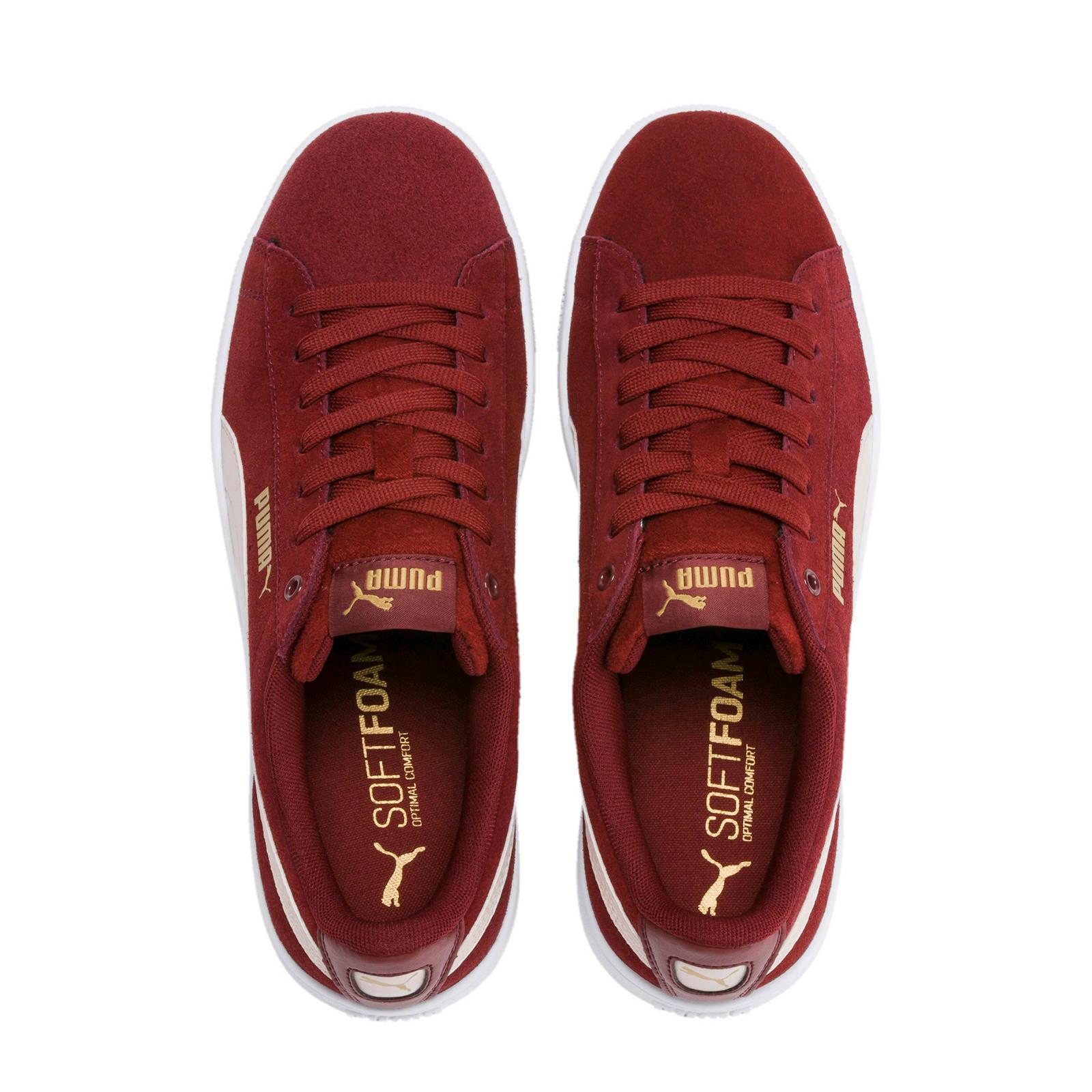 Puma Vikky Bordeaux Sneakers Dames 37,5
