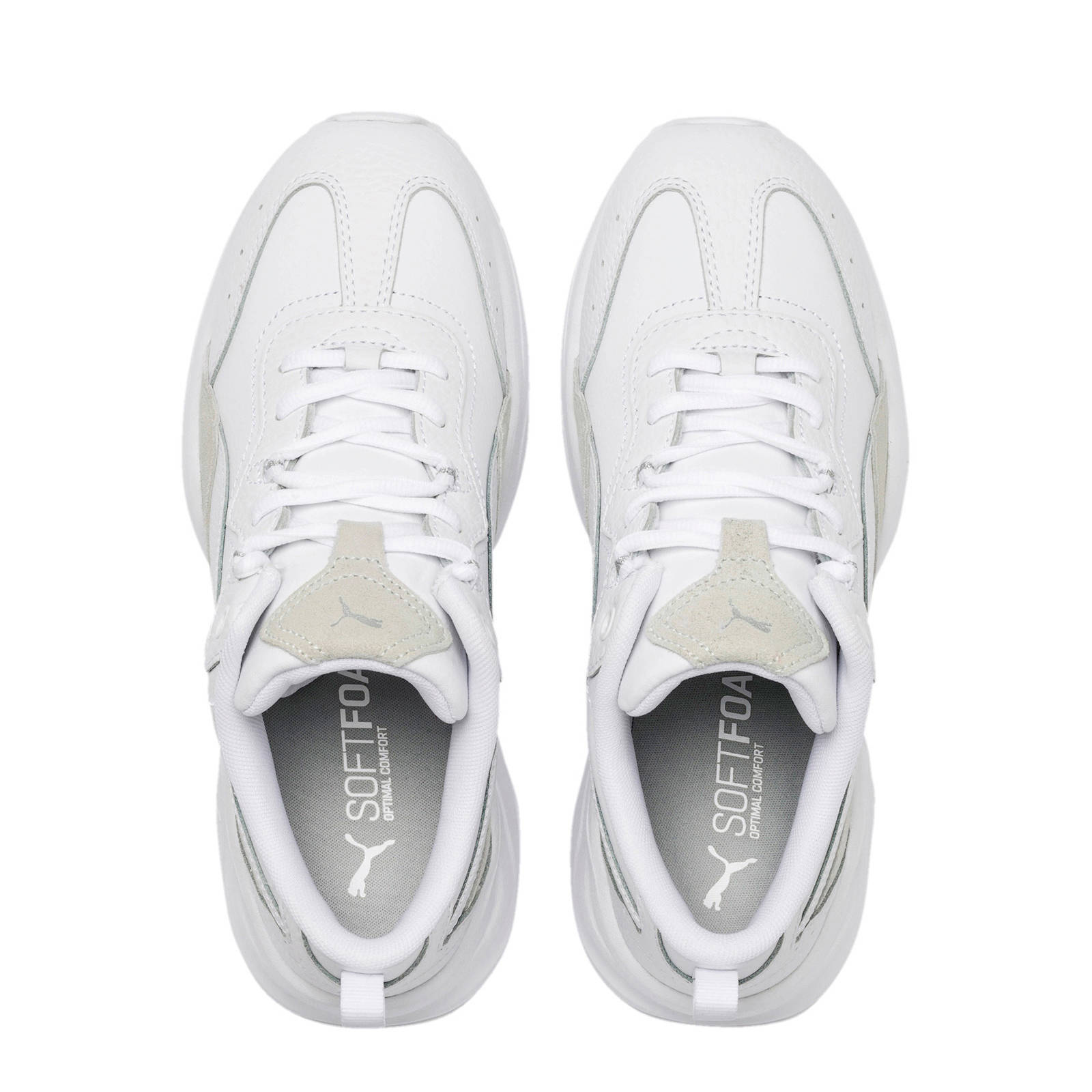 Puma Cilia Lux sneakers wit | wehkamp