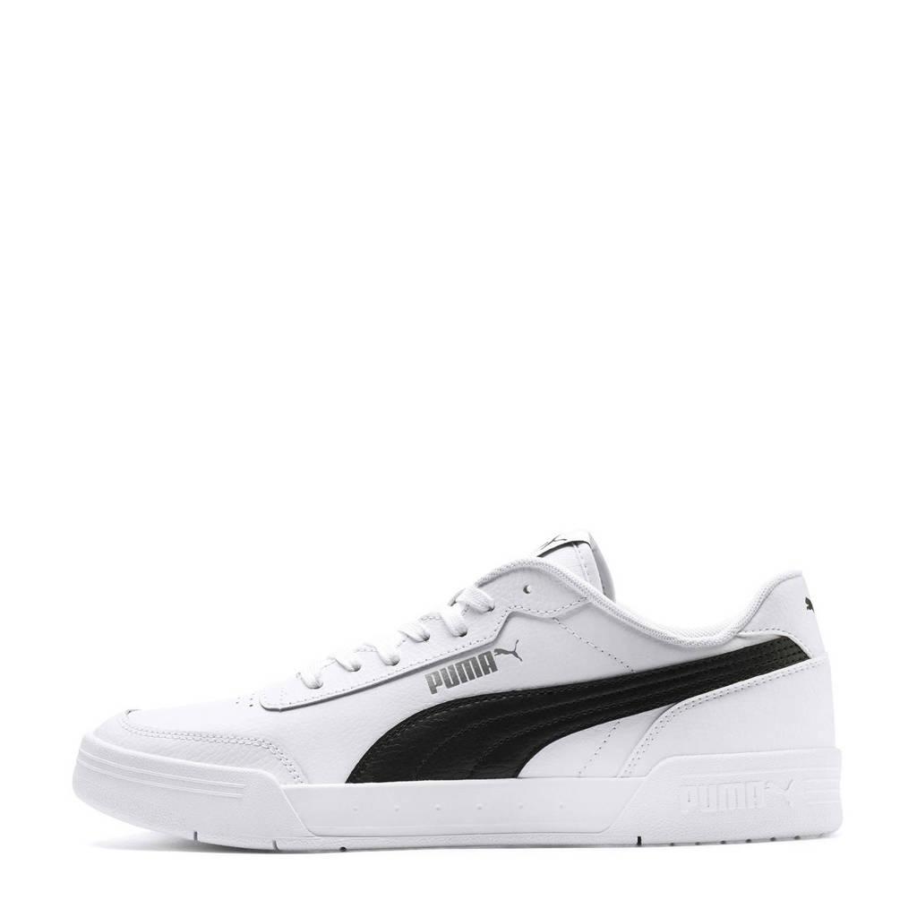 Puma  Caracal sneakers wit/zwart, Zwart/wit