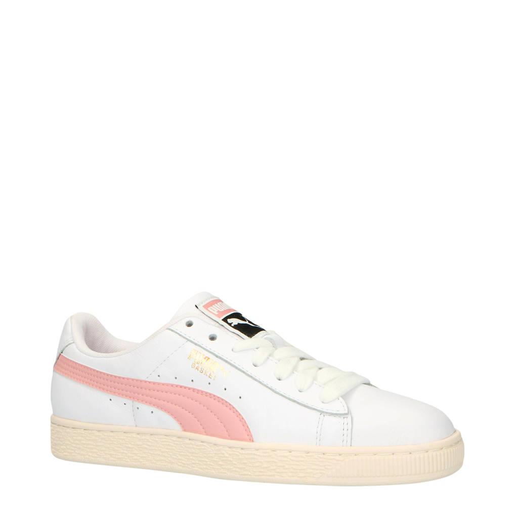 Puma  Basket Classic LFS sneakers, Wit/roze