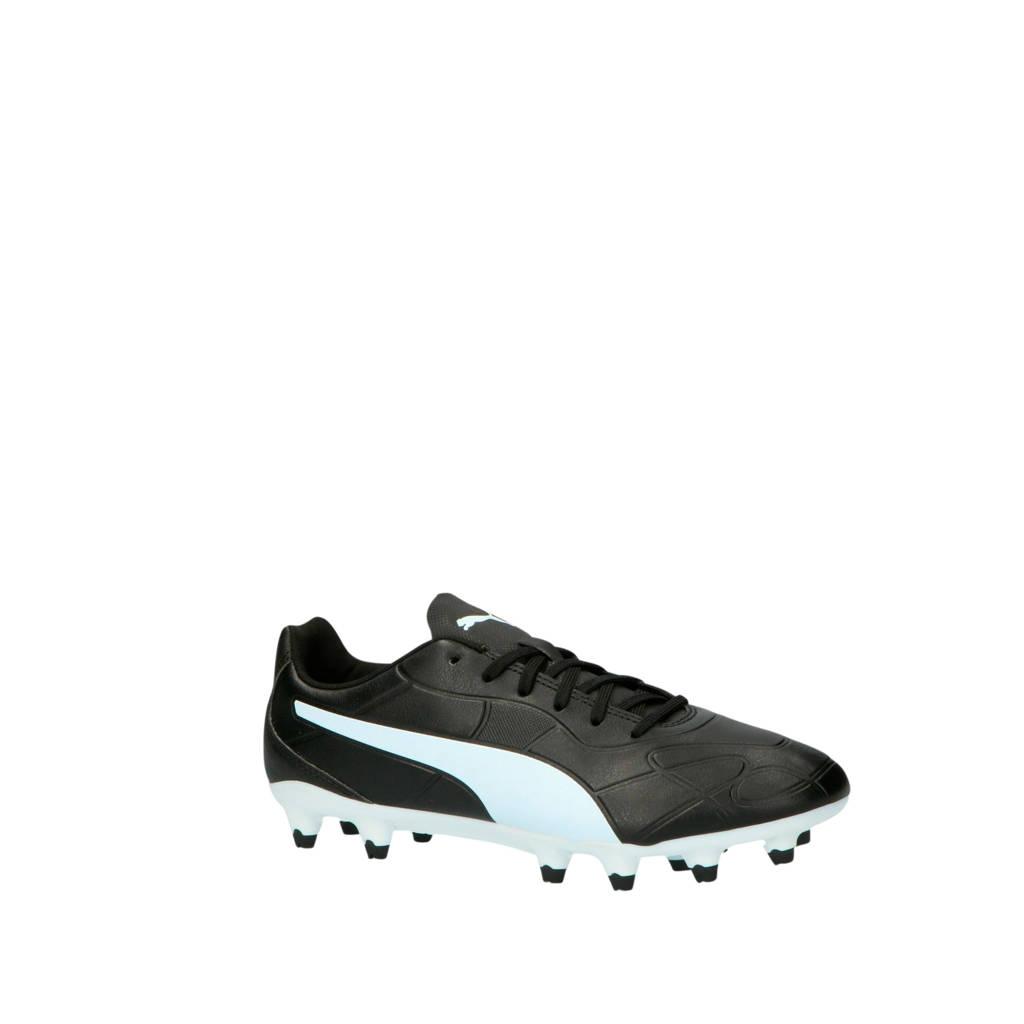 Puma  Monarch FG Monarch FG voetbalschoenen zwart/wit, Zwart/wit