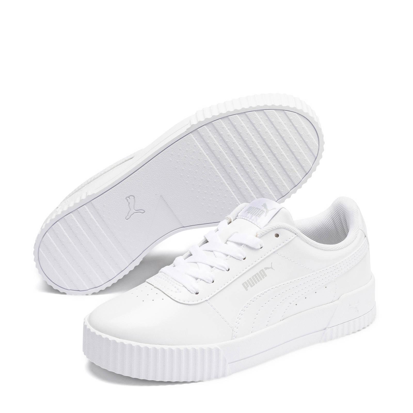 Puma Carina P sneakers wit | wehkamp