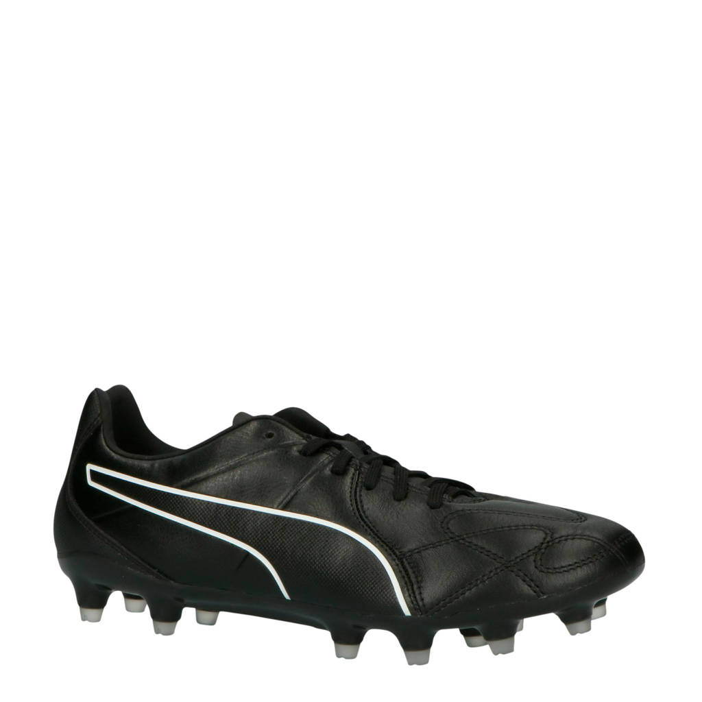 Puma  KING Hero FG King Hero Fg voetbalschoenen zwart/wit, Zwart/wit