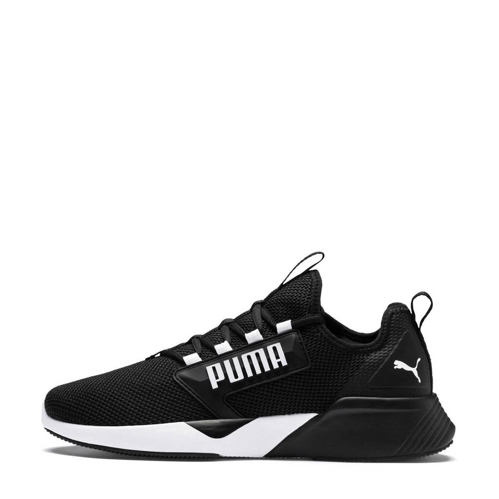 Puma hardloopschoenen zwart/wit, Zwart/wit