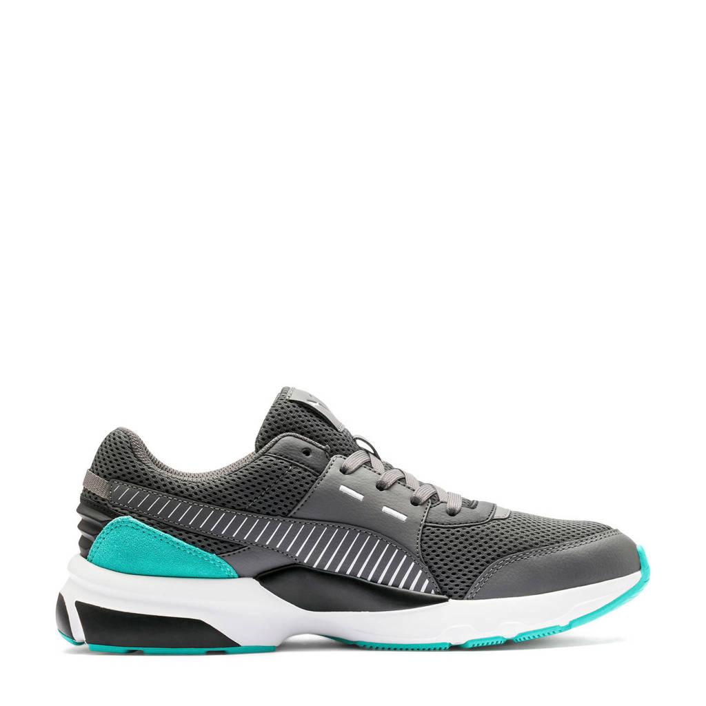 Puma  Future Runner Premium Future Runner Premium sneakers antraciet/mintgroen, Antraciet/mintgroen