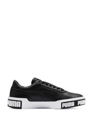 Cali Bold leren sneakers zwart