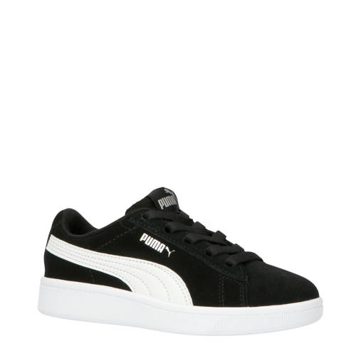Puma Vikky V2 Vikky V2 sneakers suede zwart/wit