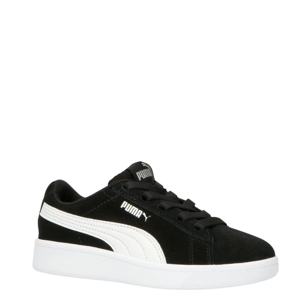 Puma  Vikky V2 Vikky V2 sneakers suede zwart/wit, Zwart/wit