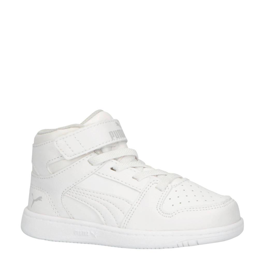 Puma Rebound Layup SL V Inf sneakers halfhoog wit, Wit