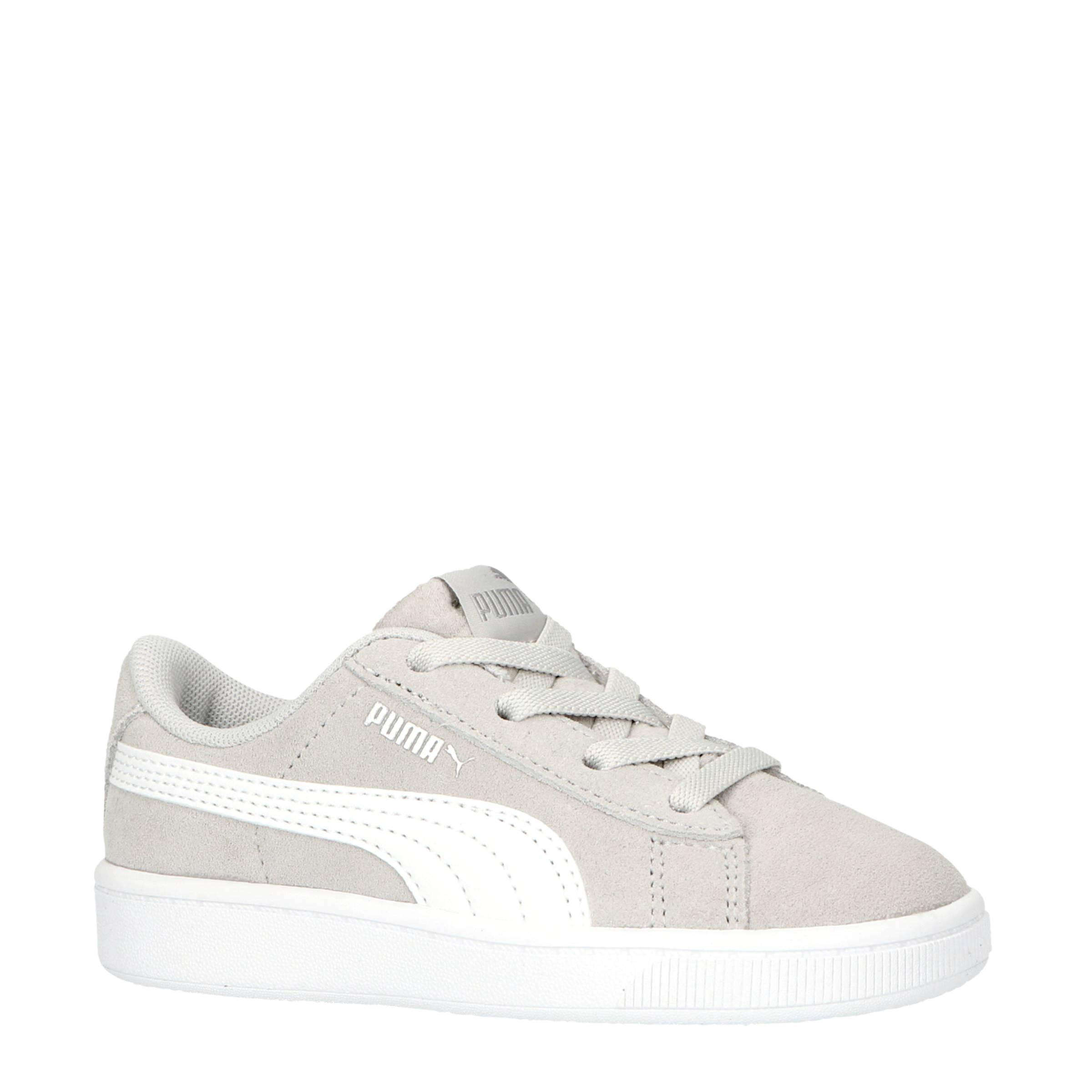 Puma Vikky V2 sneakers grijswit | wehkamp