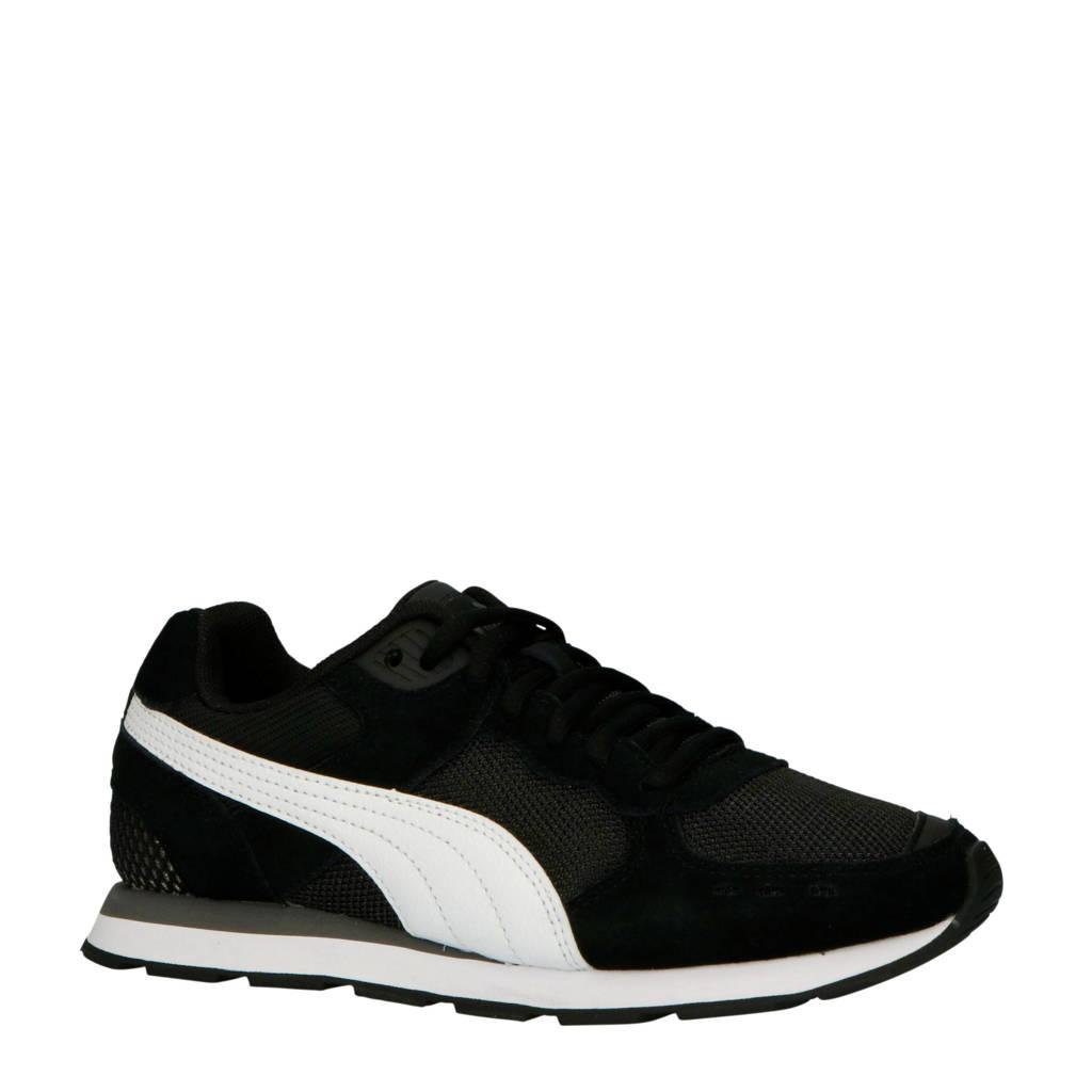 Puma  Vista Jr. sneakers zwart/wit, Zwart/wit