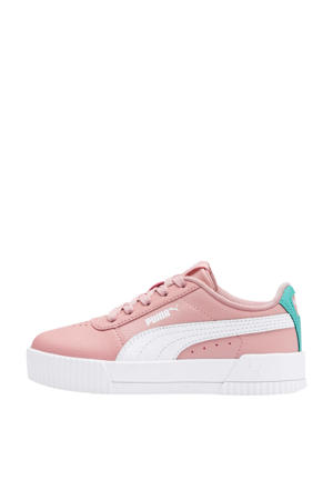 Carina L sneakers roze/wit