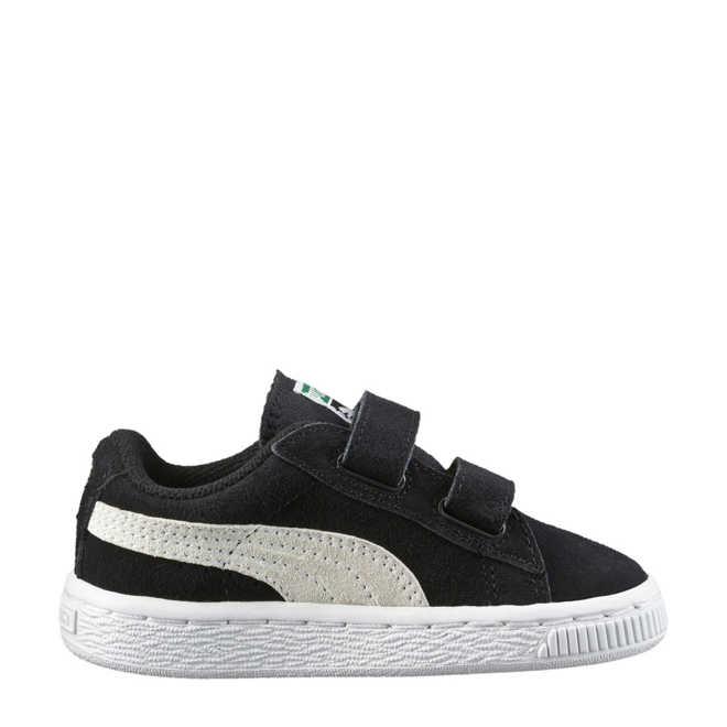 5aa6f7a7d18 Puma. Suède 2 Straps Infant sneakers zwart