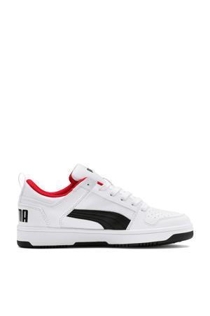 Rebound Layup Lo SL Jr sneakers wit/zwart/rood