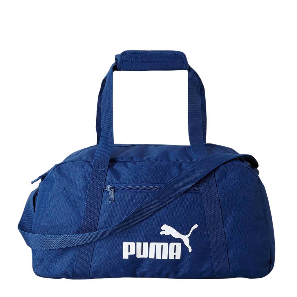 Puma   Phase Sports Bag donkerblauw, Donkerblauw
