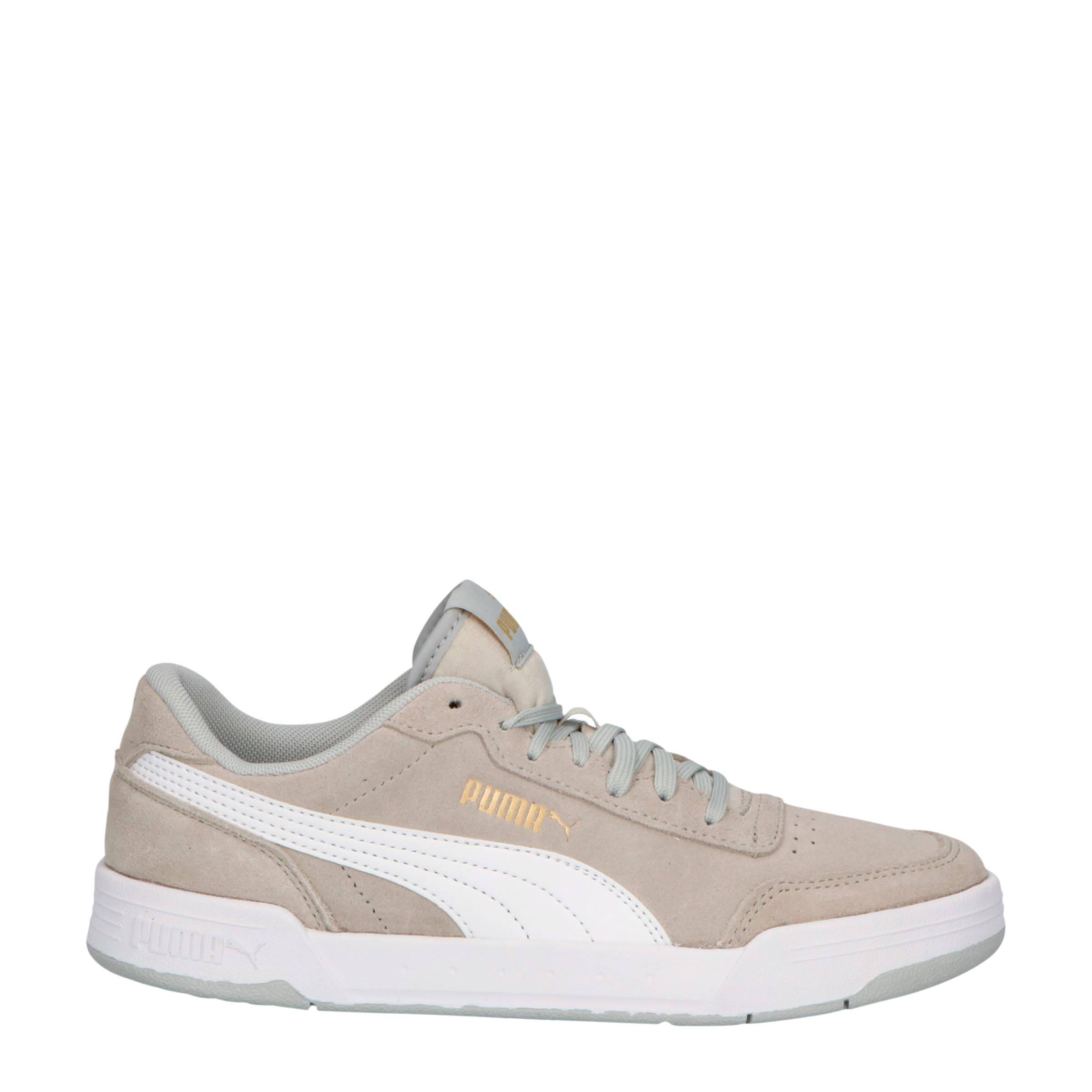 Caracal SD Jr suede sneakers grijs/wit