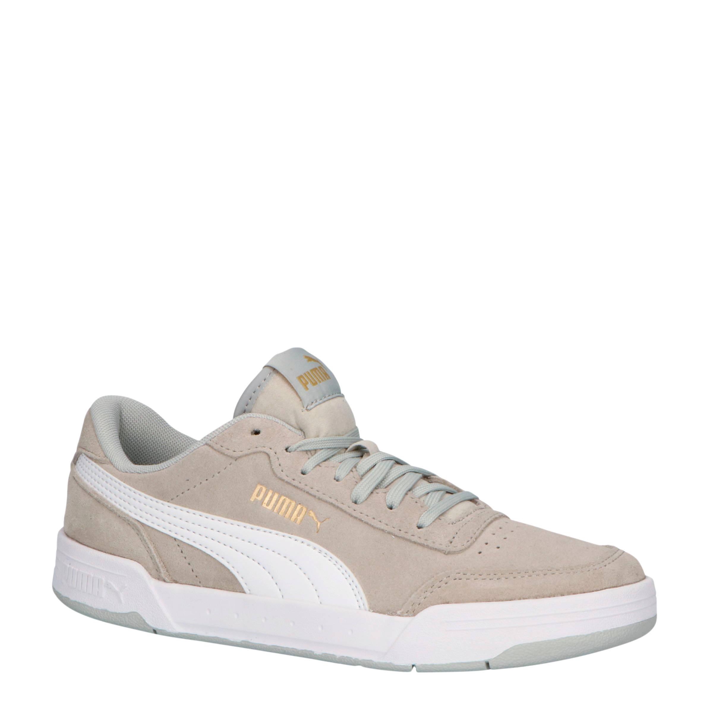Puma Caracal SD Jr suede sneakers grijs/wit | wehkamp