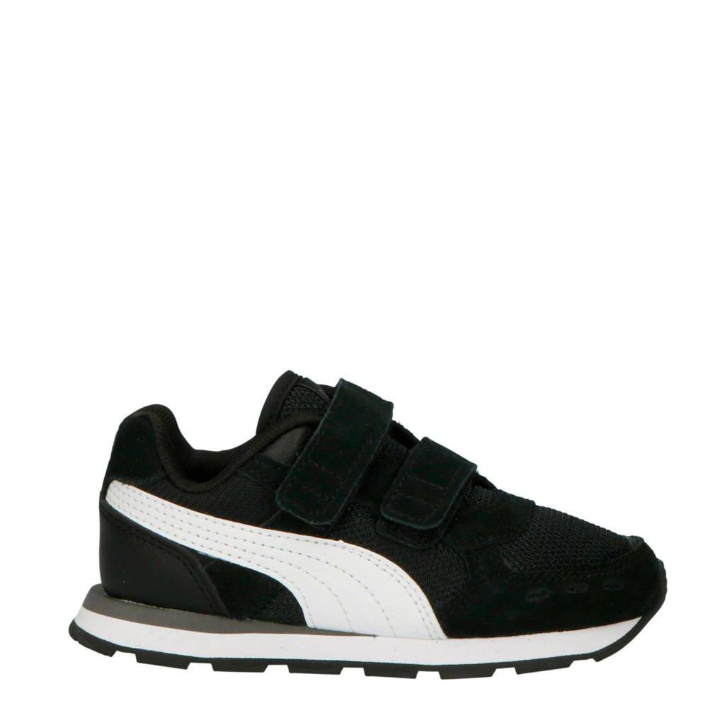 Puma Vista V Inf sneakers zwart/wit, Zwart/wit