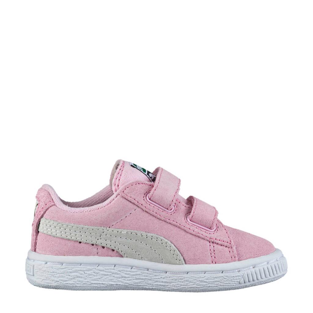 Puma Suède 2 Straps Infant sneakers roze, Roze
