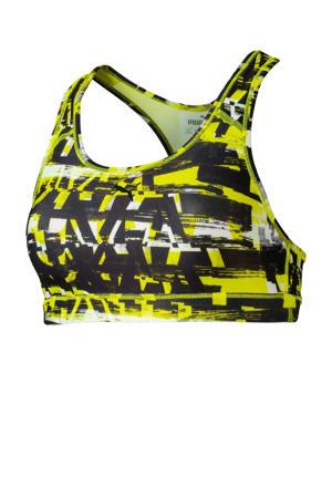 Level 3 sportbh zwart/geel