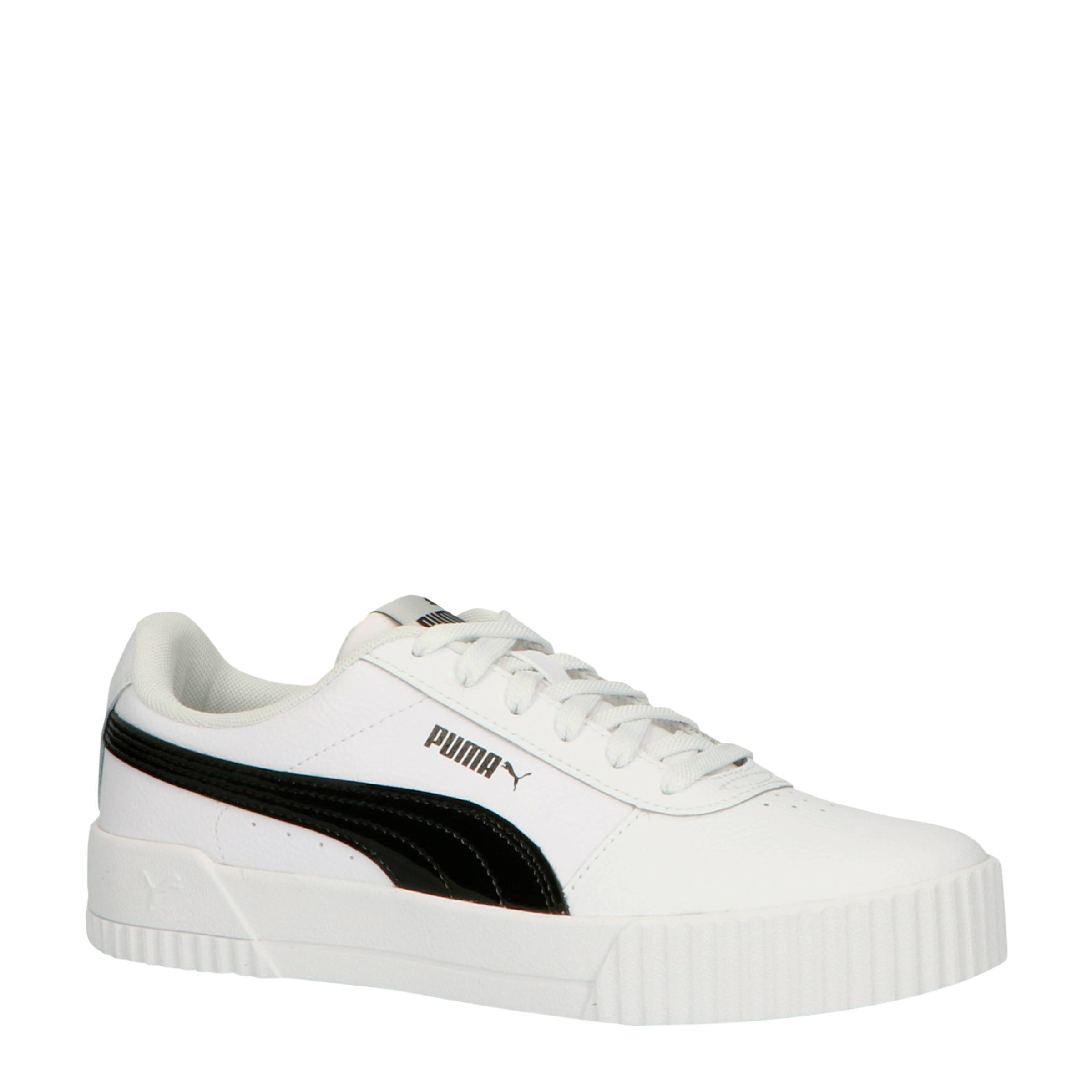 Carina sneakers wit/zwart