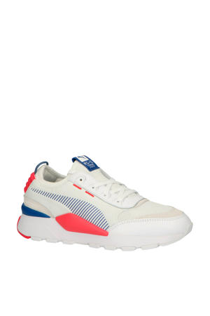 RS 0 Core sneakers wit/rose/blauw