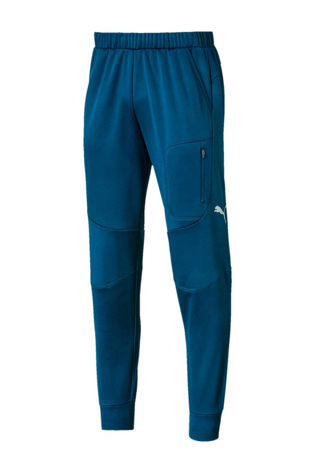 Puma   trainingsbroek donkerblauw, Donkerblauw