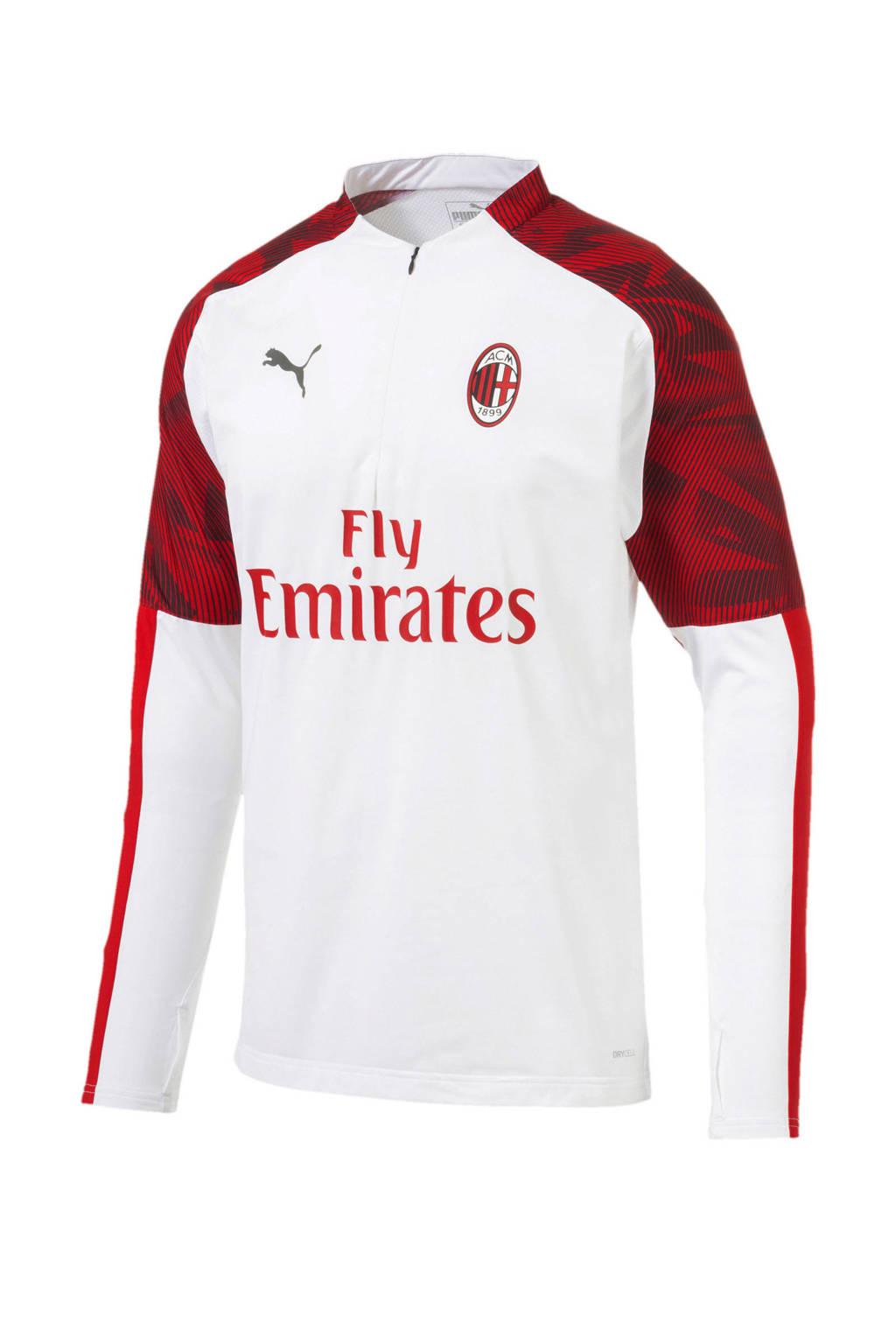 Puma Senior AC Milan voetbalshirt rood/wit, Wit/rood