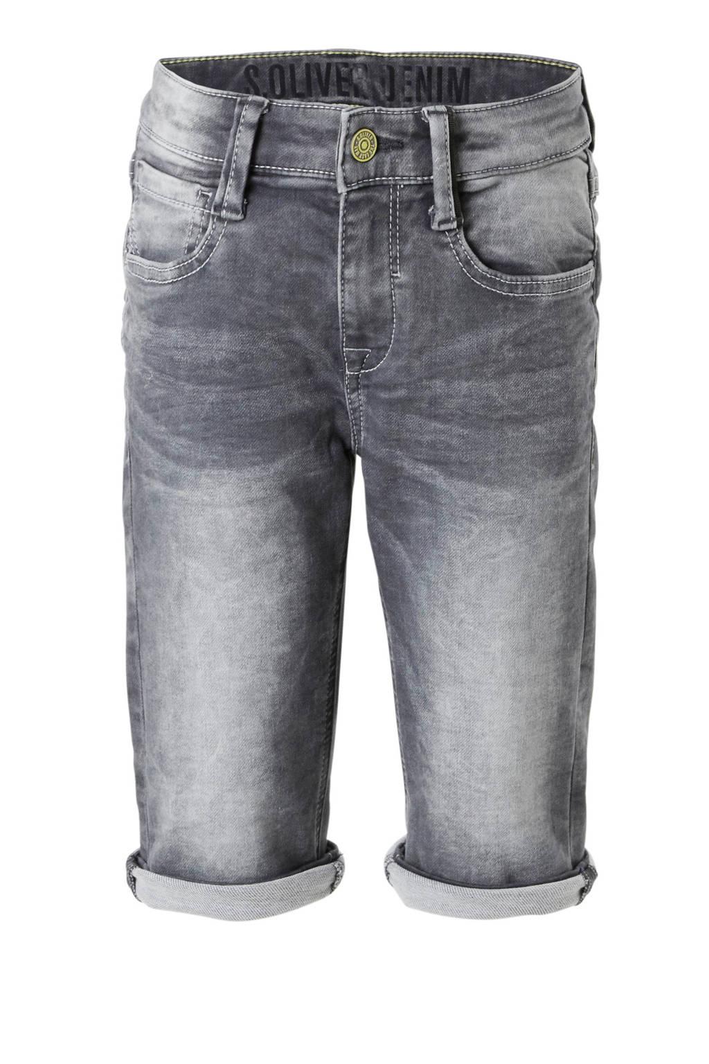 s.Oliver jeans bermuda, Grijs
