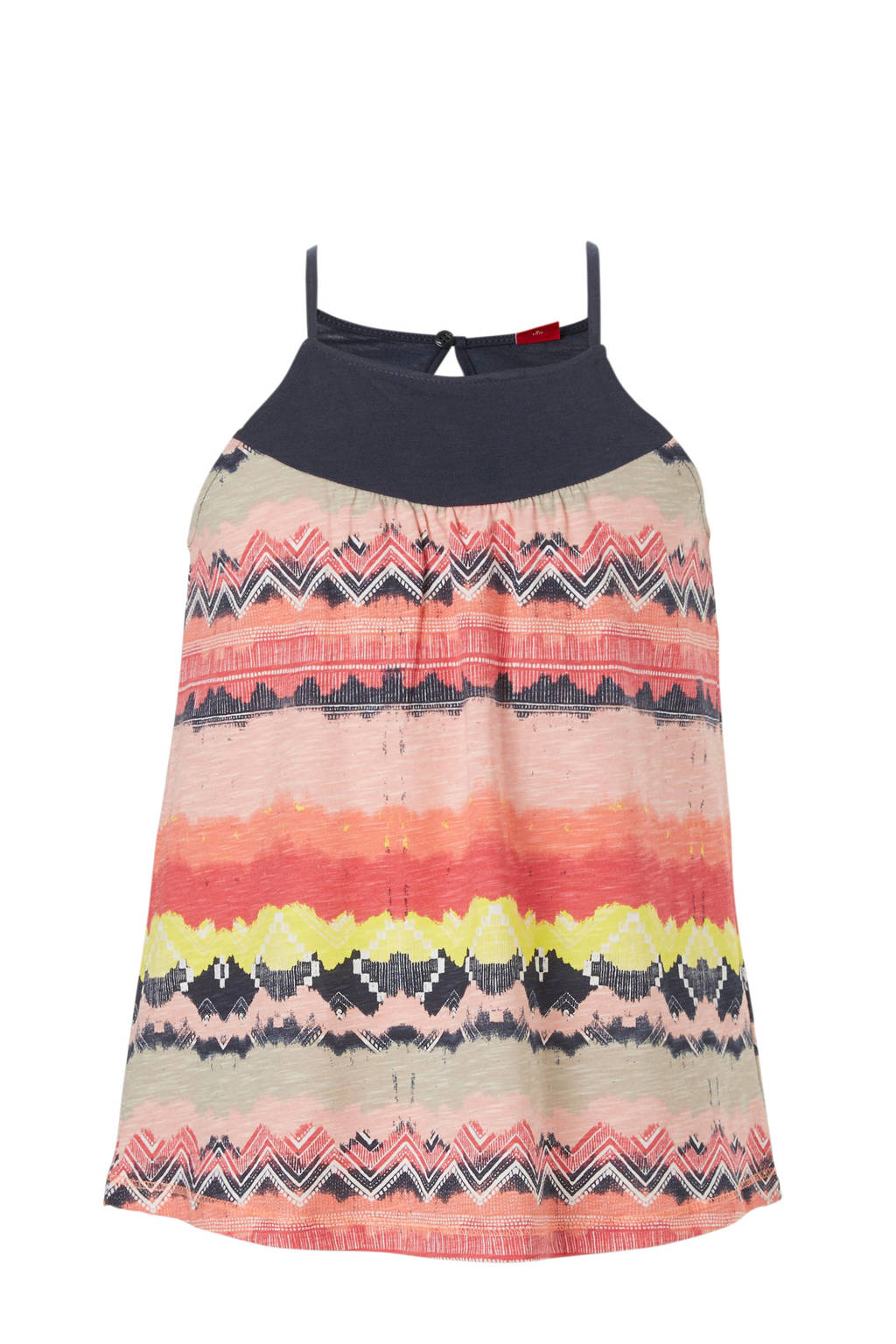 s.Oliver top met all over print, Multi