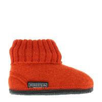 Bergstein Cozy pantoffel oranje kids, Oranje