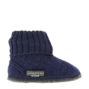 Cozy pantoffel donkerblauw kids