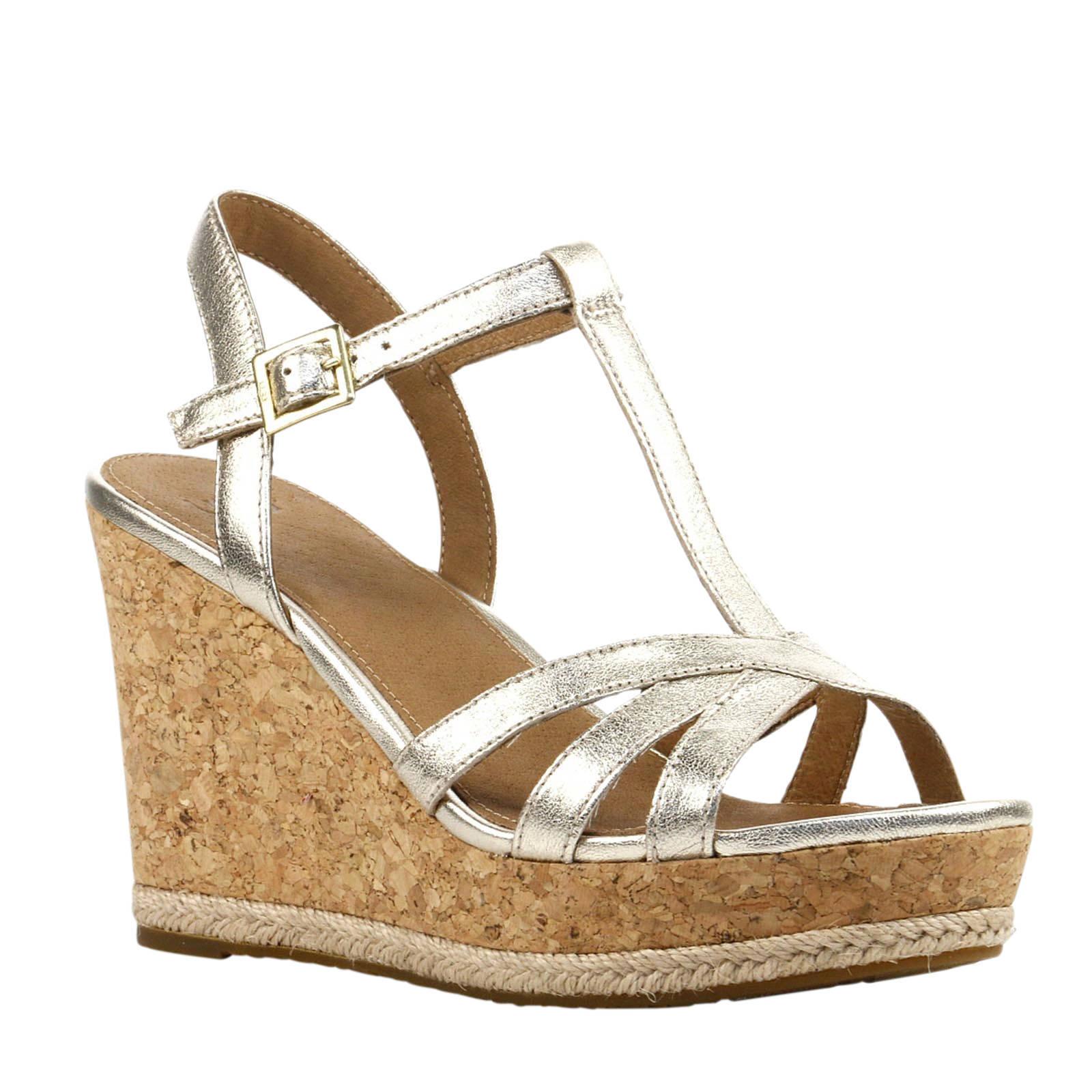 schoonheid exclusieve deals laatste mode Melissa Metallic sandalen goud
