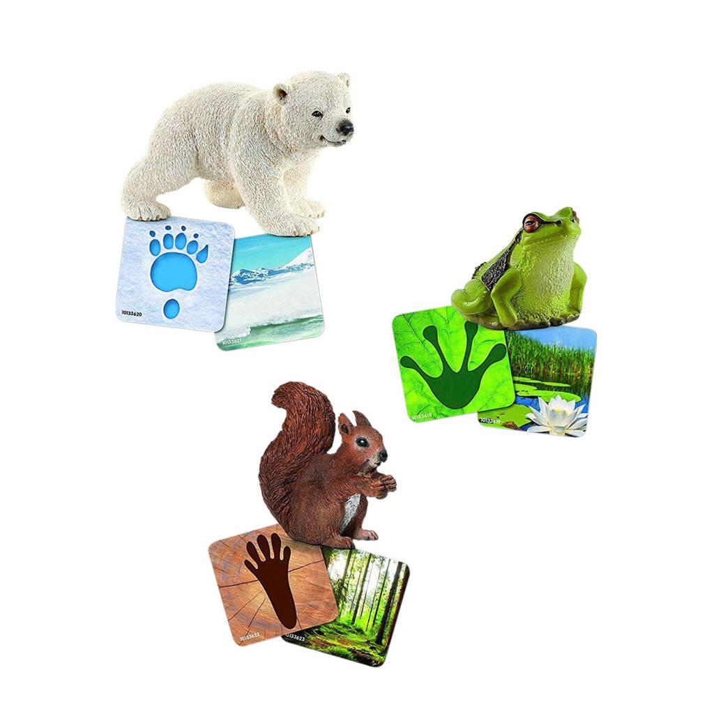 Schleich Wild Life leerkaarten