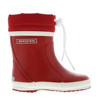 Bergstein   winterlaarzen rood kids, Rood/wit