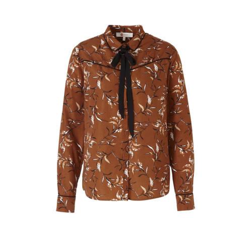 wehkamp western style blouse met bloemenprint
