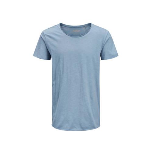 JACK & JONES ESSENTIALS gem??leerd T-shirt bla